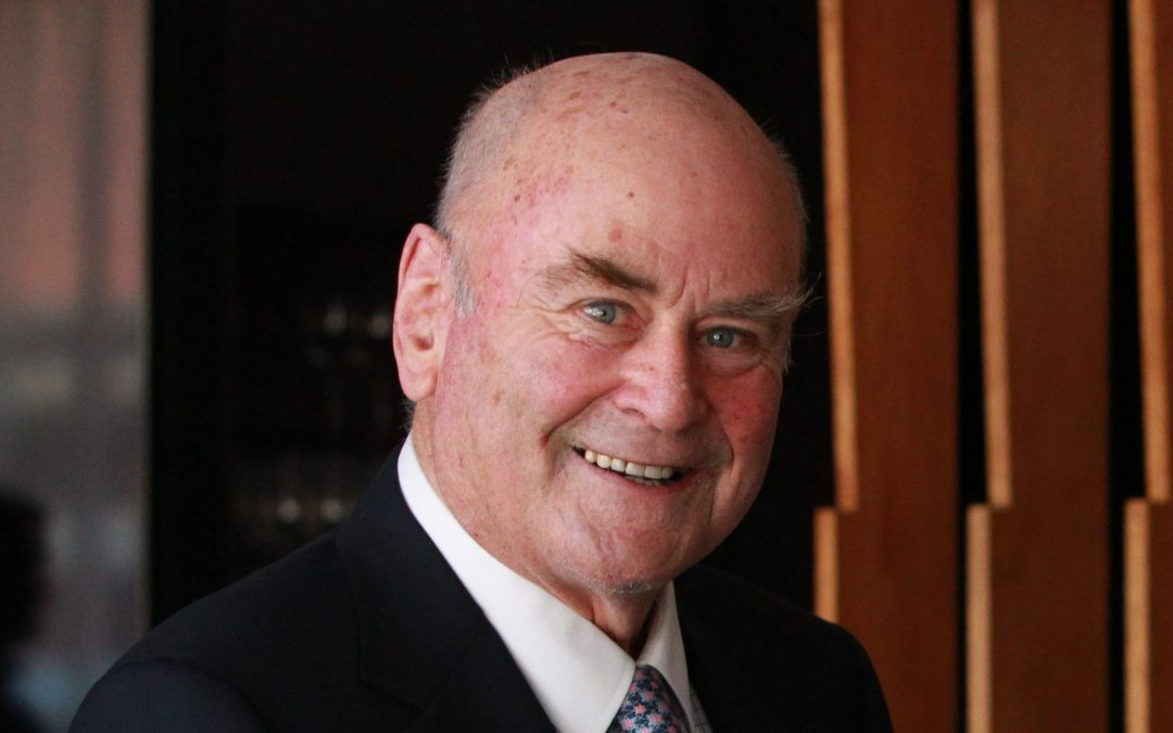 James Halliday drives innovation in the wine industry