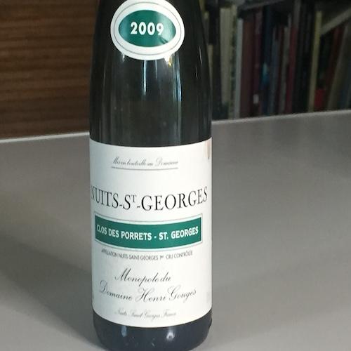 2009 Clos de Porrets St Georges Monopole Domaine Henri Gouges 375ml