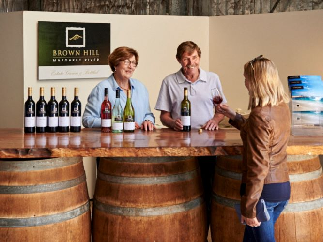 The making of Brown Hill Estate wines